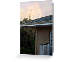 Rainbow At Dawn 13 - 23 10 12 Greeting Card
