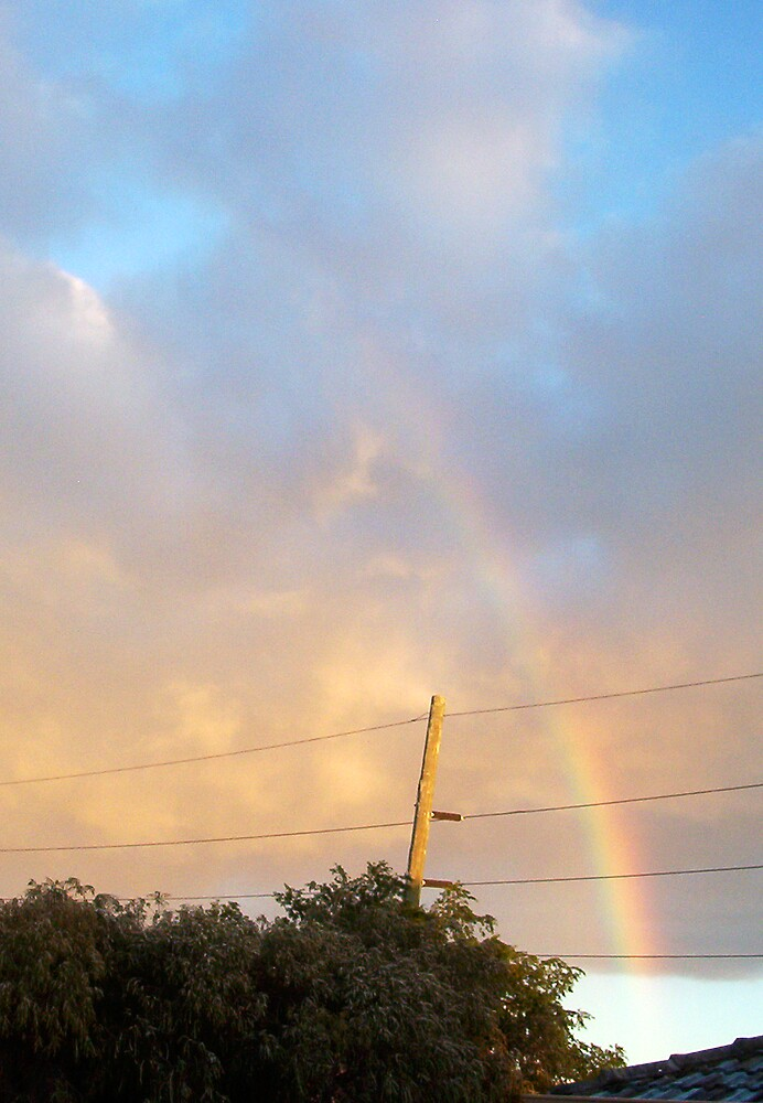 Rainbow At Dawn 11 - 23 10 12 by Robert Phillips