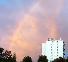 Rainbow At Dawn 10 - 23 10 12 by Robert Phillips