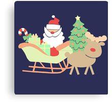 Santa #2 Canvas Print