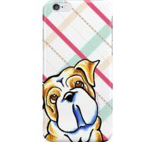 Bulldog Sugar Plum Dreams iPhone Case/Skin