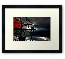 We'll Weather the Weather Whatever the Weather Framed Print