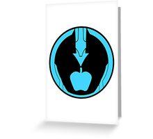 Kamen Rider Ghost eyecon newton Greeting Card