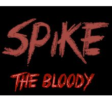 Spike the bloody (william)  Photographic Print