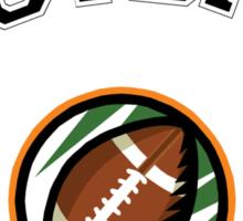 Football Mom Sticker