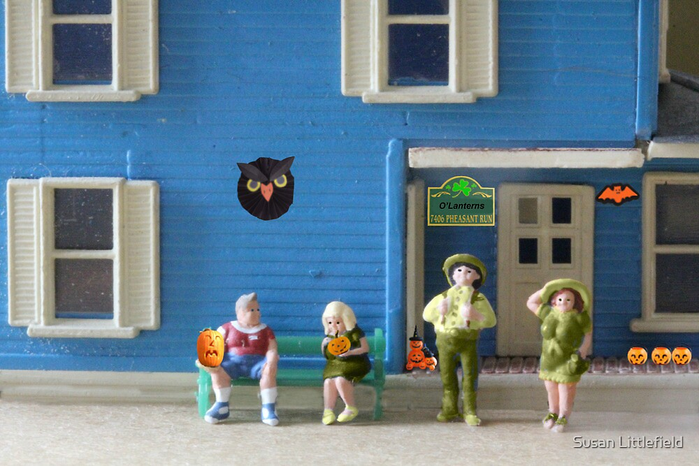 Though they were Irish, most of the O'Lanterns loved celebrating Halloween.  Jack, not so much. by Susan Littlefield