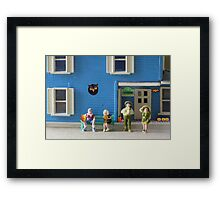 Though they were Irish, most of the O'Lanterns loved celebrating Halloween.  Jack, not so much. Framed Print