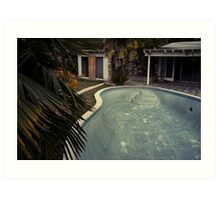 Gonzales Pool by Sam Muller Art Print