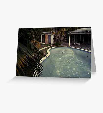 Gonzales Pool by Sam Muller Greeting Card