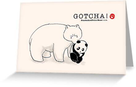 Gotcha! by Panda And Polar Bear