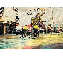 Police Presence in Las Vegas Photographic Print