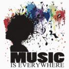 MUSIC IS EVERYWHERE by yosi cupano