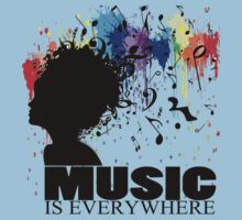 MUSIC IS EVERYWHERE Kids Clothes