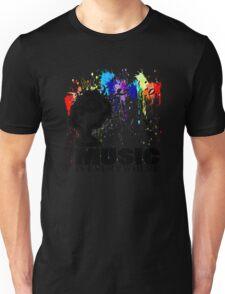 MUSIC IS EVERYWHERE Unisex T-Shirt