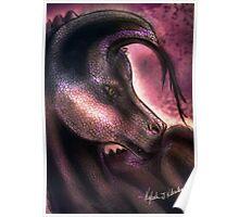 Magical Queen Dragon Poster