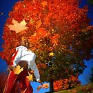 Raining Leaves by RockyWalley