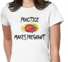 Funny Pregnant Womens Fitted T-Shirt