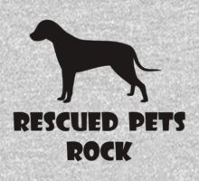 Rescued Pets Rock by nyah14