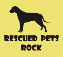 Rescued Pets Rock Kids Tee