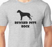 Rescued Pets Rock Unisex T-Shirt