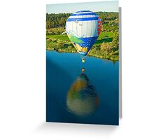 Reflections On The Dechutes Greeting Card