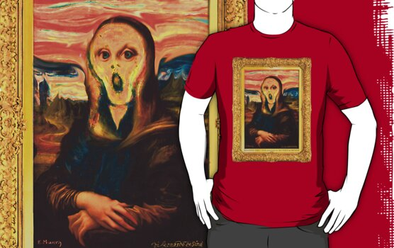 Moaning Lisa by Andy Hook