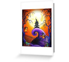 Spells and Owls Greeting Card