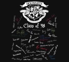 Class of '98 (on black) Kids Clothes