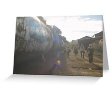 Railway Focus Greeting Card
