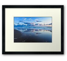 Blue Shores.... Framed Print