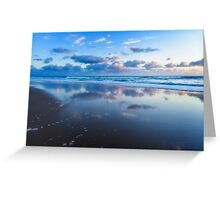 Blue Shores.... Greeting Card
