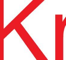 """Project """"Kr"""" Sticker"""