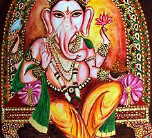 Lord Ganesha by Harsh  Malik