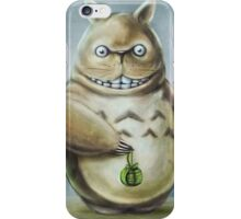 Totoro Communis Domestica Tra Digital Painting iPhone Case/Skin