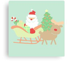 Santa #5 Canvas Print