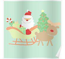 Santa #5 Poster