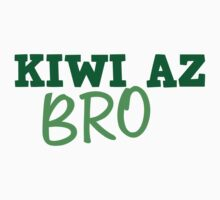 KIWI az BRO cute New Zealand design by jazzydevil