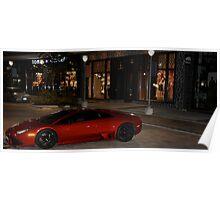 Lamborghini Murcielago LP640  Poster