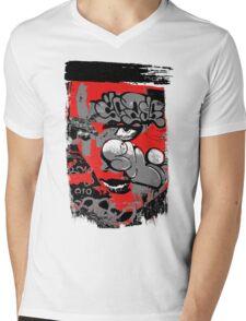 graffiti girl Mens V-Neck T-Shirt