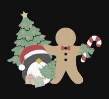 Penguin & Gingerbread #1 One Piece - Short Sleeve
