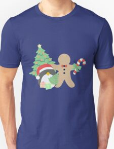 Penguin & Gingerbread #1 T-Shirt