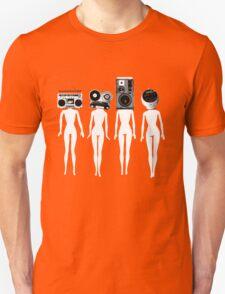 four chicks retro remix T-Shirt