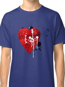 graffiti heart love Classic T-Shirt