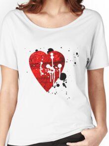 graffiti heart love Women's Relaxed Fit T-Shirt