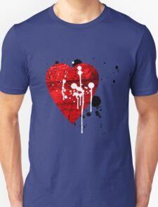 graffiti heart love T-Shirt