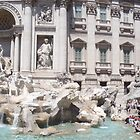 Panoramic Trevi Fountain  by yuliekayy