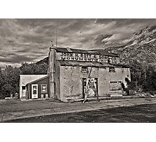 Gristmill Ruin  Photographic Print