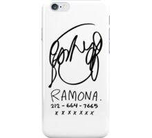Ramona Flowers iPhone Case/Skin