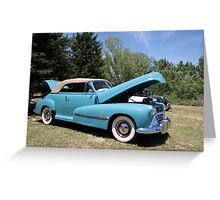 American Classic Oldsmobile 88 Greeting Card