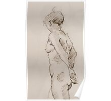 Nude Sketch Poster